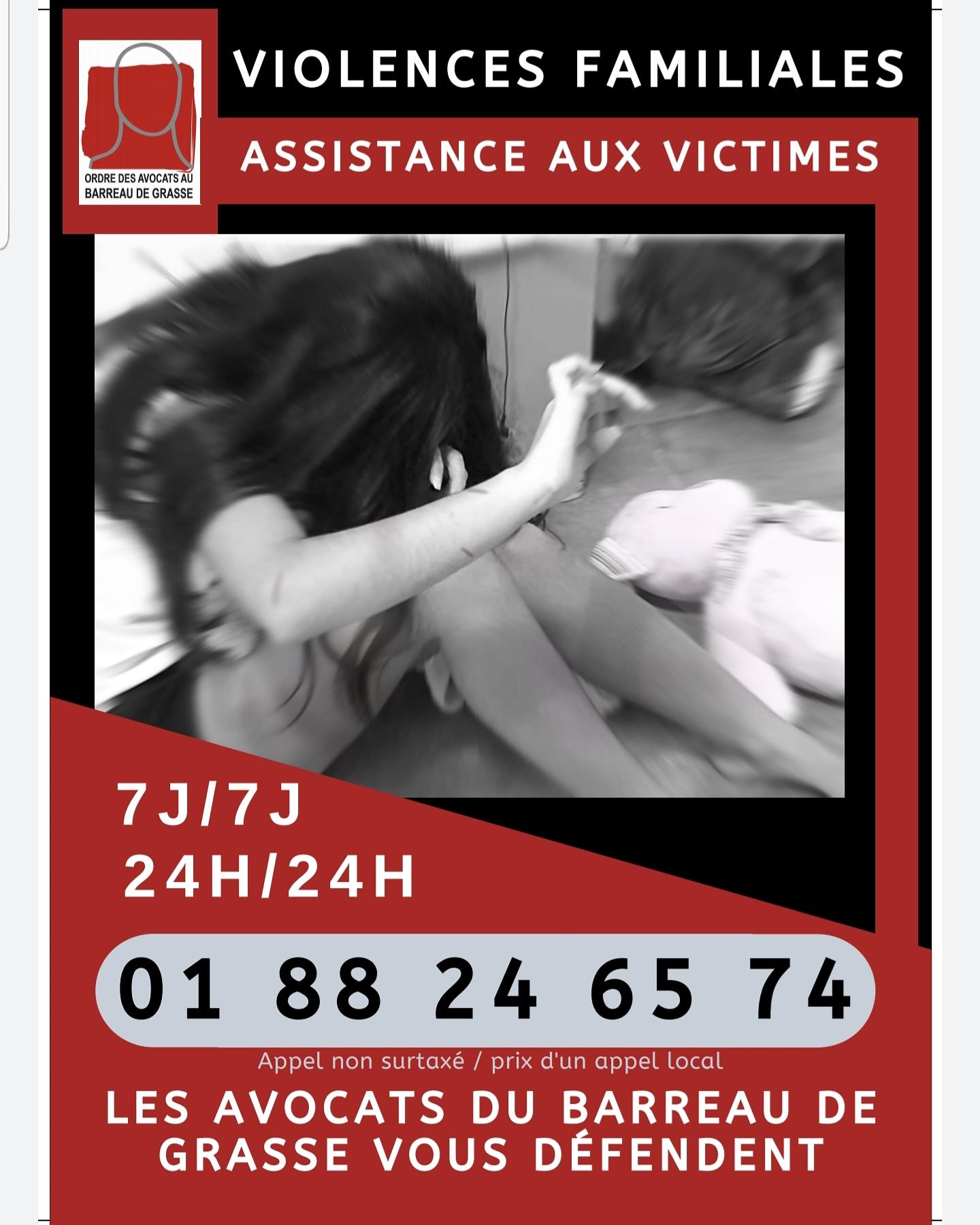 ASSISTANCE AUX VICTIMES VIOLENCES FAMILIALES